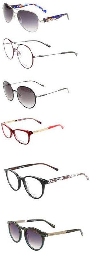 Modelo e estiloso, esse óculos solar apresenta hastes rajadas em diversas  cores e ainda lentes em degradé para diversos momentos do dia. bbe3eac69f