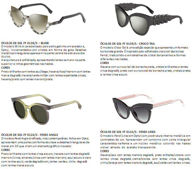 0a3e5850d3a1f ... criando uma mistura perfeita entre a parte interna e externa da armação.  Estes óculos de sol celebram o artesanato e o savoir-faire únicos da Fendi.