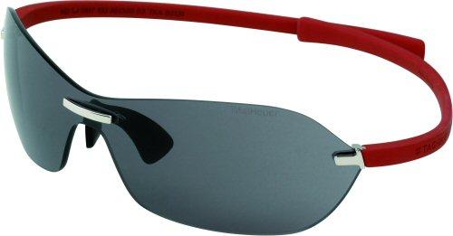 d35abf013 Já o modelo TH5107 possui um formato único, o design da dobradiça  patenteada corajosamente realça o olhar sóbrio, muito masculino. As hastes  na cor vermelha ...