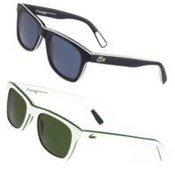 Os óculos, leves e confortáveis, apresentam armação de acetato e estilo  wayfarer e se destacam pela presença de listras sutis aplicadas às peças,  ... ef3f69ca41