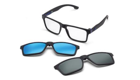 ff2dc6f57 No total são seis cores variantes que contemplam duas lentes adicionais  solares uma espelhada e outra preta. Dentre as opções elas são: bicolor  cinza e ...