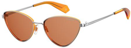 1720d4cda Os óculos de sol PLD 6071/s apresentam um formato a olho de gato, com as  pontas das hastes e as lentes coloridas a esmalte a combinar com as nuances  das ...