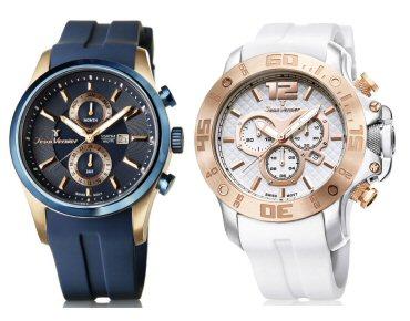 6e3aafa9d61 Jean Vernier Apresenta Novos Relógios na Coleção Quest