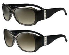 03fbbd554 Ares retrô e cristais Swarovski nos novos óculos de sol Jean Monnier