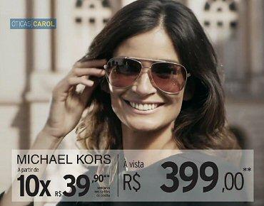 c838eea8c88db Óticas Carol lança campanha com Carol Ribeiro para destacar óculos ...
