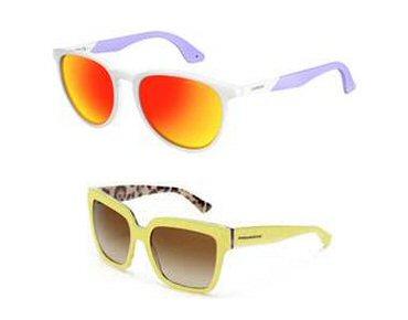 Óticas Carol seleciona modelos de óculos amarelo e laranja  as cores do  verão ae52a79713