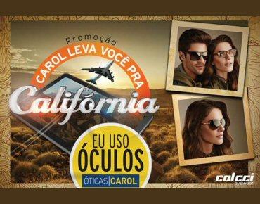 880b3cdcb087a Nova campanha da Óticas Carol leva clientes para a Califórnia