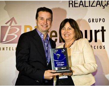 73b7d2b2c28ac Óticas Carol recebe prêmio Top 25 das melhores franquias do Brasil