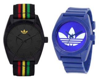 983a088f667 Crédito da Foto  Novos relógios Adidas. Adidas traz cores do reggae e tendência  navy em relógios esportivos da linha Originals.