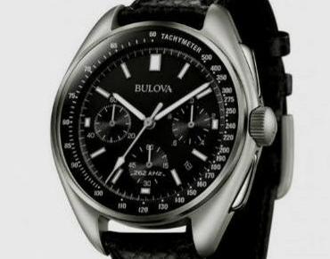 2543f037da7 Bulova replica relógio que foi à lua em versão comercial