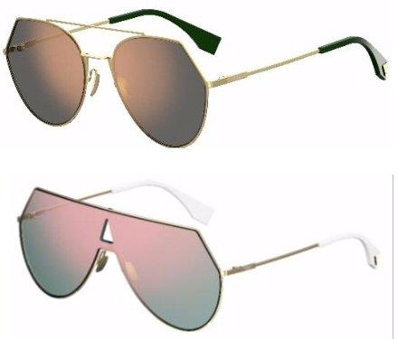 8ef34dd02 Óculos de sol FF 0193/s ?EYELINE. Os óculos de sol EYELINE traduzem  geometrias puras com fortes contrastes entre grandes volumes e linhas finas  das armações ...