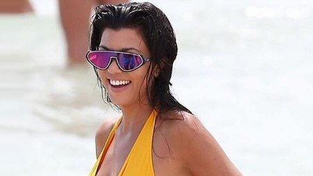 Modelo de óculos Emilio Pucci querido por Kourtney Kardashian chega ao  Brasil O modelo escolhido é espelhado e tem uma pegada futurista. 39f447c7d2