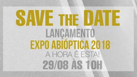286339851bca4 Abióptica lança campanha de marketing da Expo Abióptica 2018. Para o ano  que vem, a ação abordará o tema