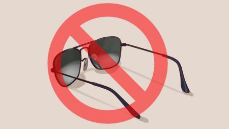 7089164a3c0c4 Na praia ou nas ruas  o perigo dos óculos falsificados