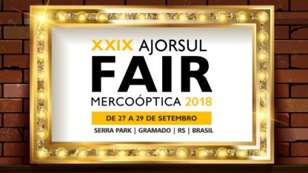 cb0afed69 Óptica no Brasil - 20/09/2018 · Ajorsul Fair Mercoóptica 2018 - Falta 1  Semana! Entre em contato com um dos expositores e solicite uma senha de  acesso.
