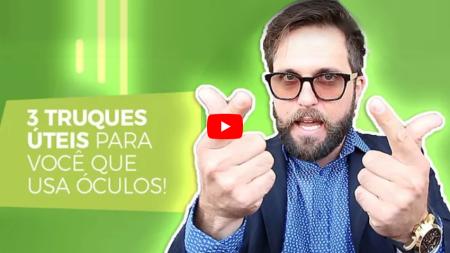 3 truques úteis para você que usa óculos! a8b99efdbb