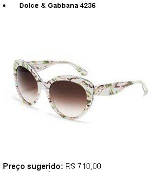 6b44d9be6295c Descrição  Óculos com formato olho-de-gato e cantos arredondados. A  silhueta sinuosa adquire uma maior leveza com a adição da textura em forma  de flores de ...
